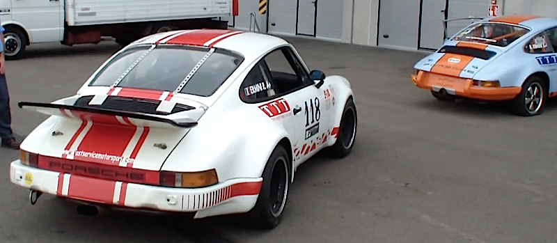 DLEDMV Porsche 964 turbo & 912 straight pipes 01