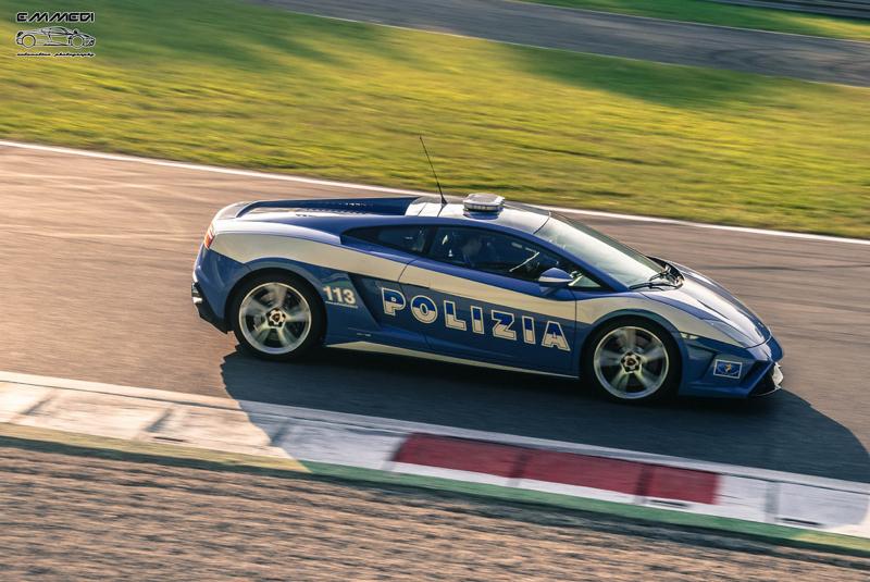 DLEDMV Lamborghini Gallardo Polizia Donuts 03