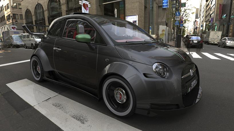 DLEDMV Lazzarini Design 550 Italia Prototipo Unico02