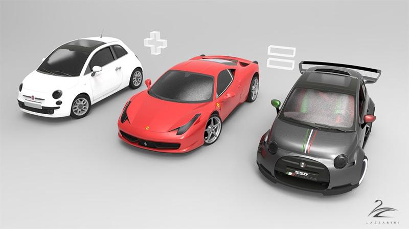 DLEDMV Lazzarini Design 550 Italia Prototipo Unico03
