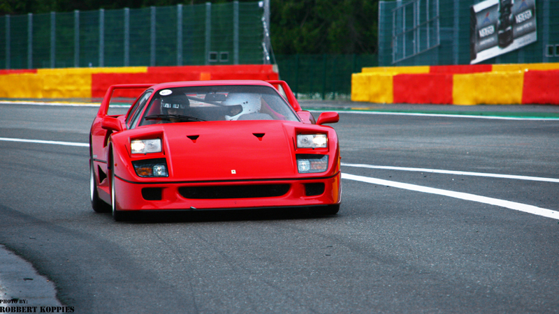zzz DLEDMV Ferrari F40 à Spa francorchamps 03