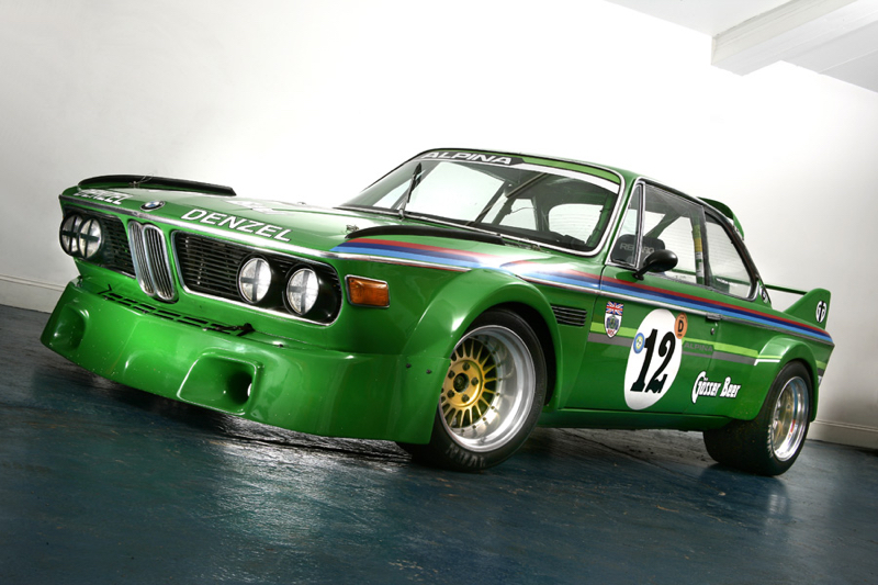 DLEDMV - BMW E9 3.0 CSL Engine Sound 09
