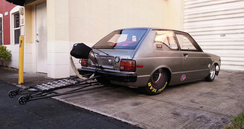1250 ch dans une Toyota Starlet... Ca va secouer ! 11