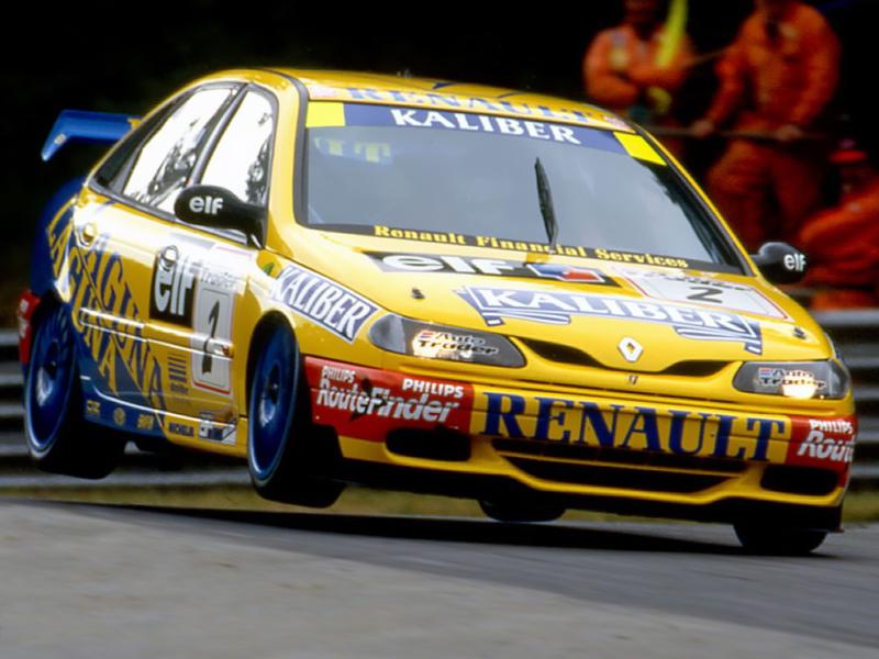 DLEDMV - Renault Laguna Williams BTCC Essai - 09