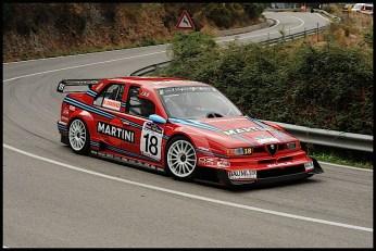 DLEDMV - Alfa 155 V6 DTM hillclimb monster - 01