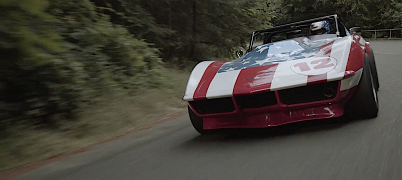 DLEDMV - Corvette real america stars & stripes - 02