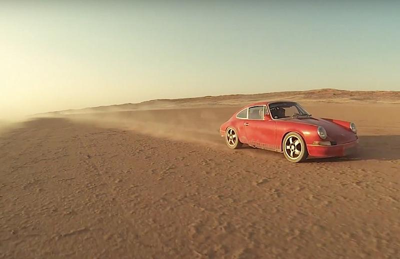 DLEDMV - Porsche 911 the dutchmann in desert - 01