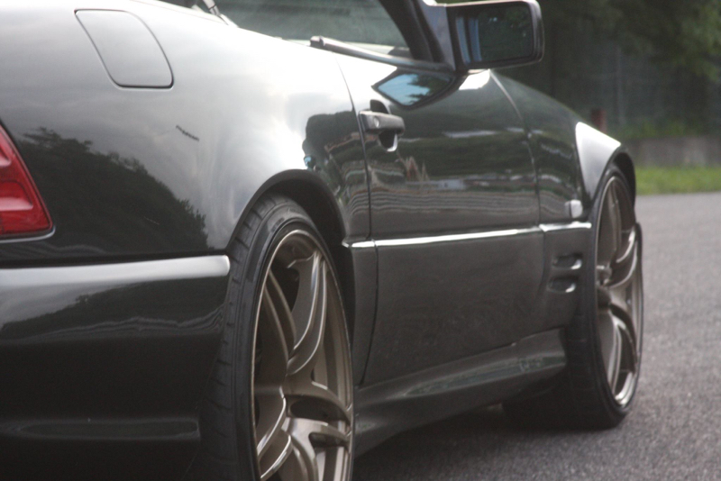 DLEDMV - Mercedes 500 SL swap 2JZ - 06