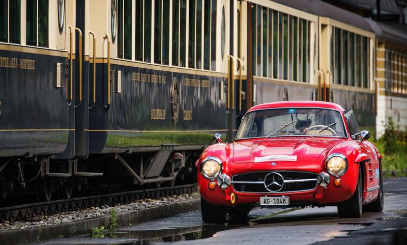 DLEDMV - Mercedes Benz 300 SL Gullwing onboard - 01