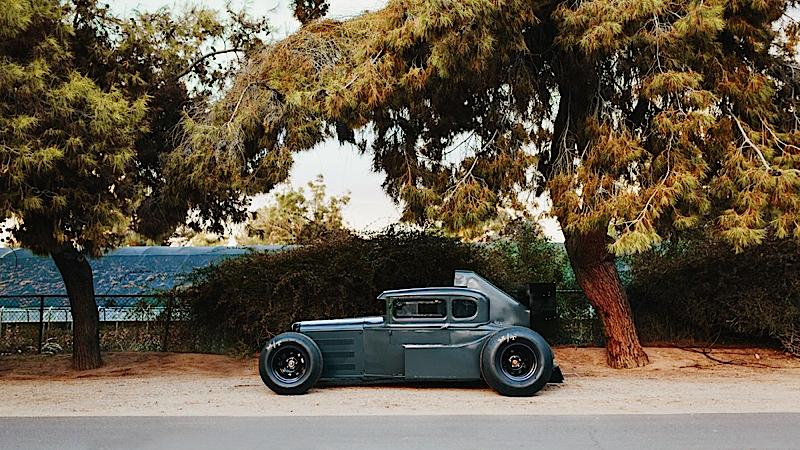 DLEDMV - Ford A Hot rod + F1 - 01