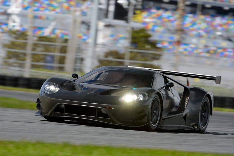 DLEDMV - Ford GT 2016 Test Daytona - 01