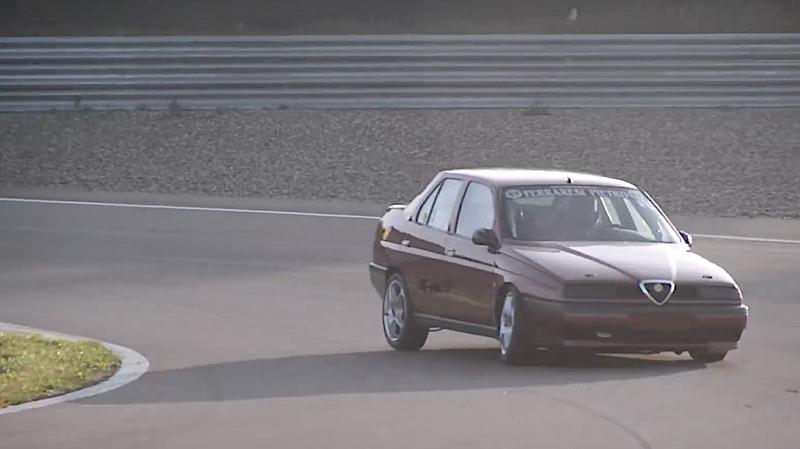 DLEDMV - Alfa 155 Autodromo de modena - 01