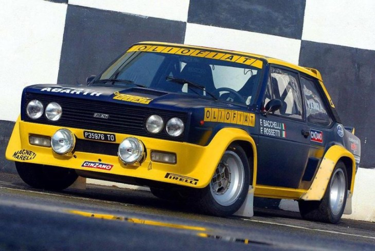 DLEDMV - Fiat 131 Abarth raly - 02