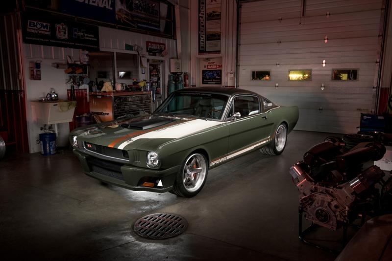 DLEDMV - Ford Mustang 65 Ringbrothers Sema 15 - 02
