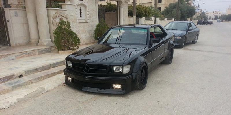 DLEDMV - Mercedes 560 SEC 2JZ drift Jordanie - 01
