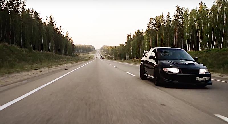 DLEDMV - Mitsu Lancer Evo 6 Full Black - 02