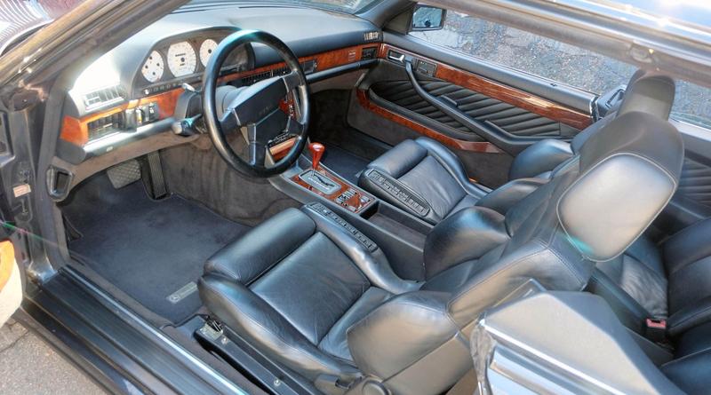 DLEDMV - Mercedes 560 SEC AMG Grey - 01
