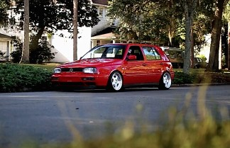 DLEDMV - VW Golf 3 airride OZ - 01