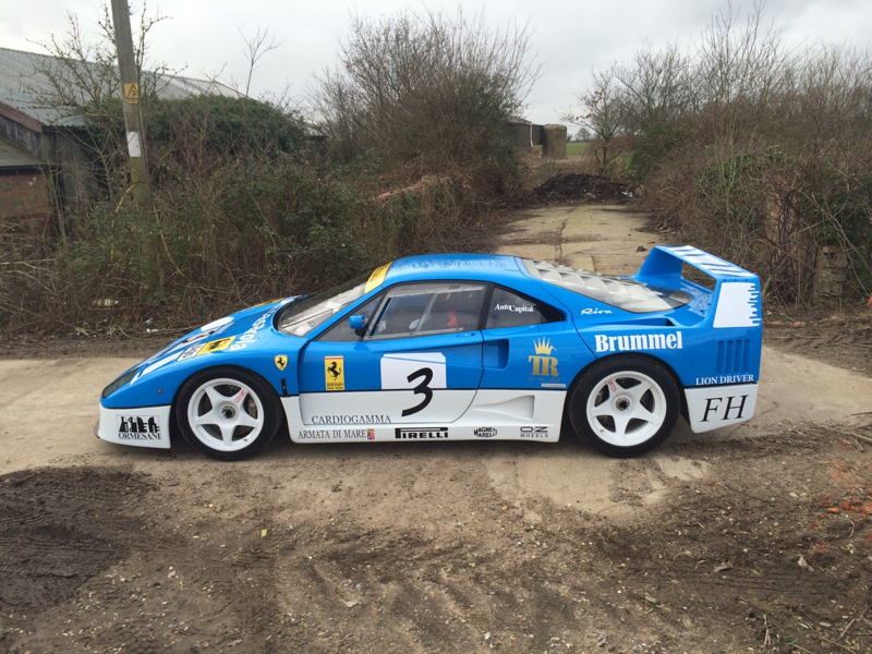 DLEDMV - Ferrari F40 GT TTR - 04
