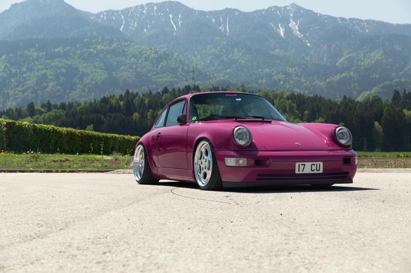 DLEDMV - Porsche 964 fushia milestone71 - 01