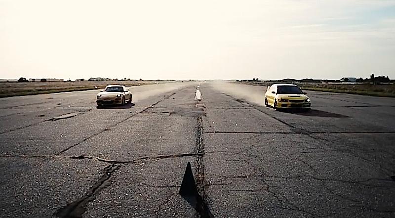 DLEDMV - Evo 9 vs Carrera S - 07