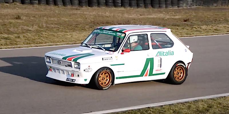 Mini Fiat 127... Maxi V6 Turbo ! 10
