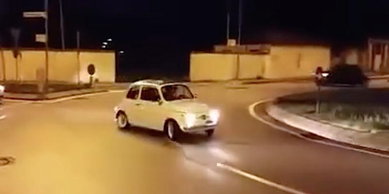 DLEDMV - Fiat 500 Drift fun - 02
