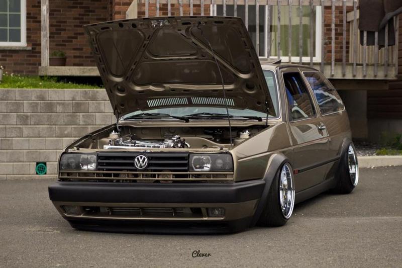 DLEDMV - Golf 2 VR6 turbo Unix performance - 02