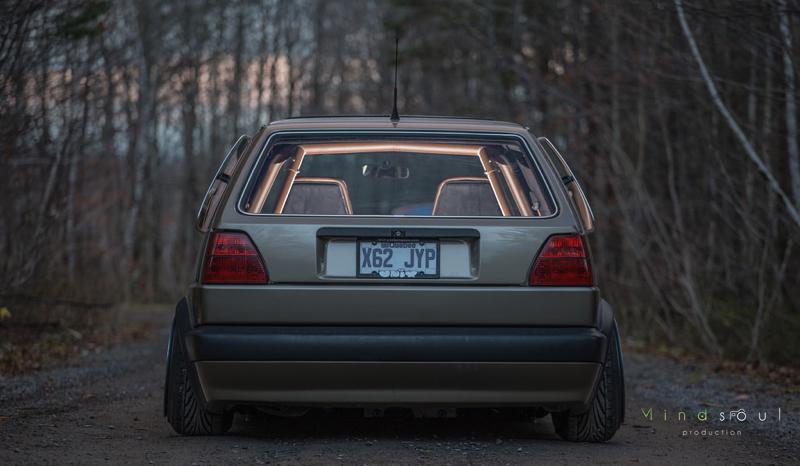 DLEDMV - Golf 2 VR6 turbo Unix performance - 06