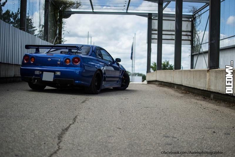 DLEDMV - Nissan Skyline Blue R34 Aurels - 01