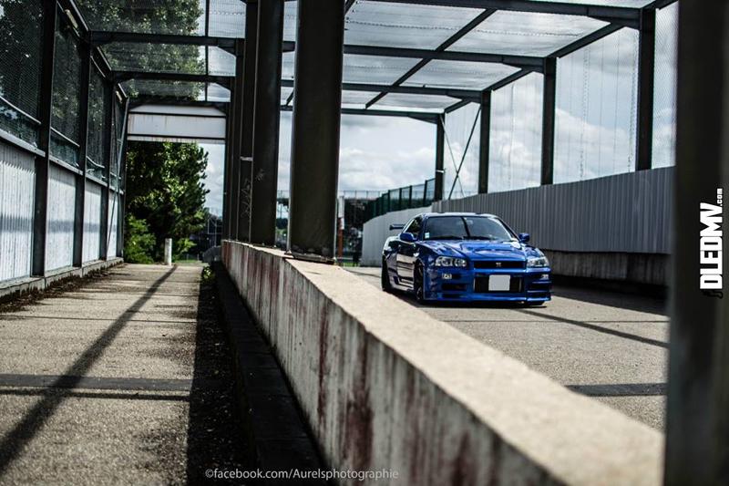 DLEDMV - Nissan Skyline Blue R34 Aurels - 04