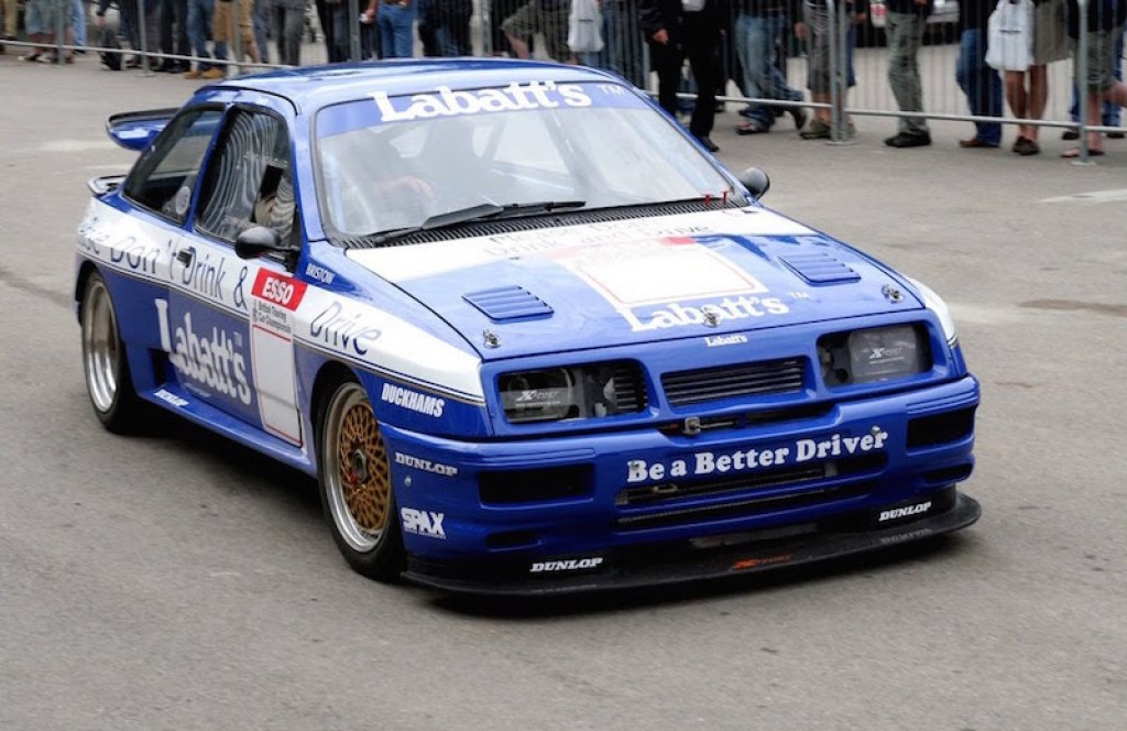 DLEDMV - Ford Sierra RS500 Cossie Rally Drift - 02