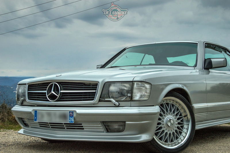 DLEDMV - Mercedes 500SEC Exclue - 12