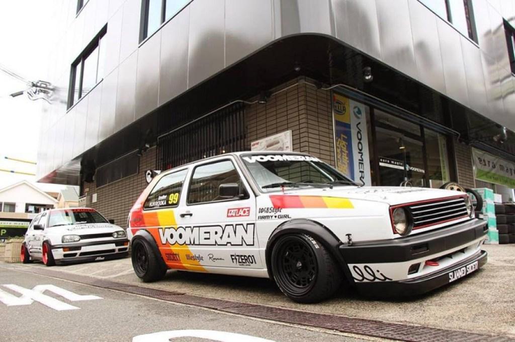 DLEDMV - VW Golf 2 GTI & R32 Voomeran - 01