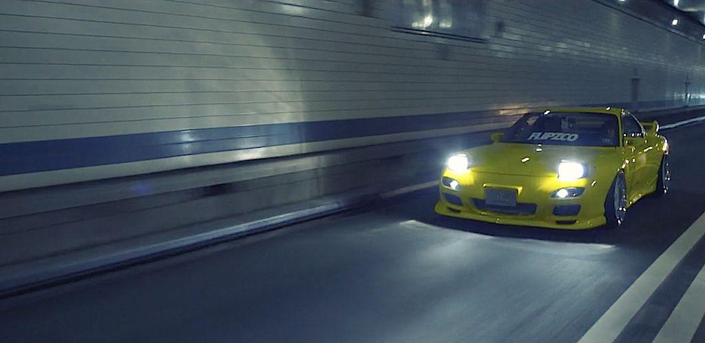 DLEDMV - Mazda RX7 FD X2 Times Square - 01