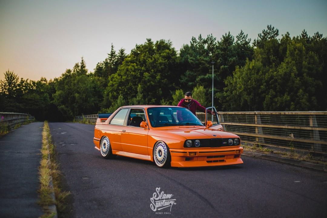 DLEDMV - BMW M3 E30 Orange Airride Bugatti - 07