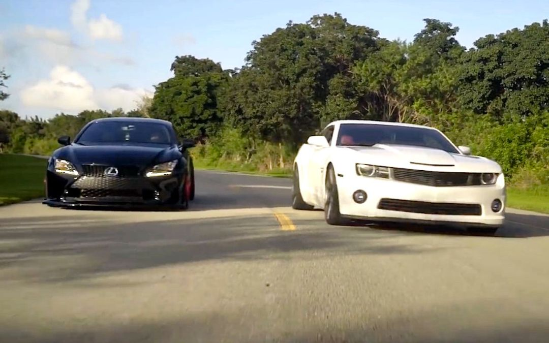 DLEDMV - Lexus RCF vs Chevy Camaro - 01