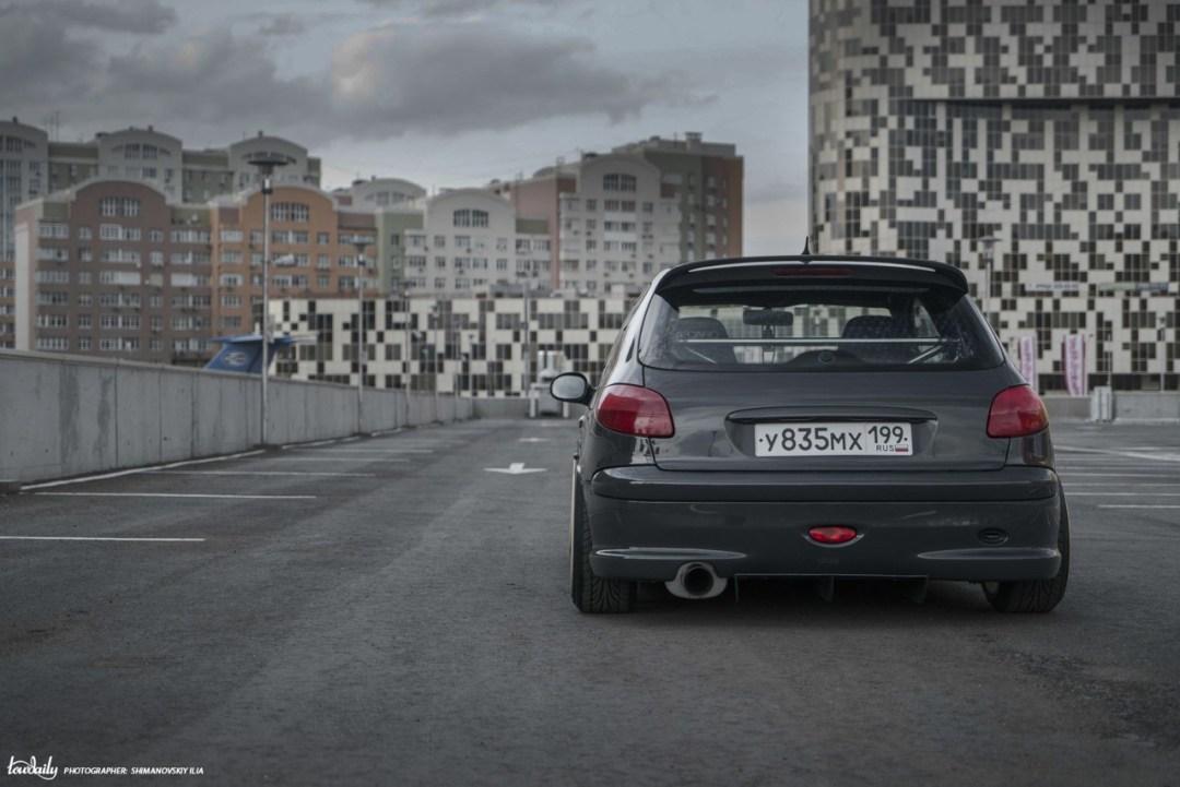 DLEDMV - Peugeot 206 S16 Russe - 17