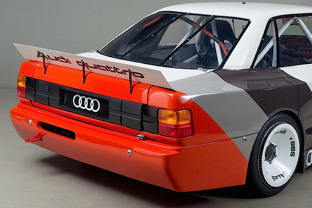 Audi 200 Trans-Am, Quattro pistarde 18