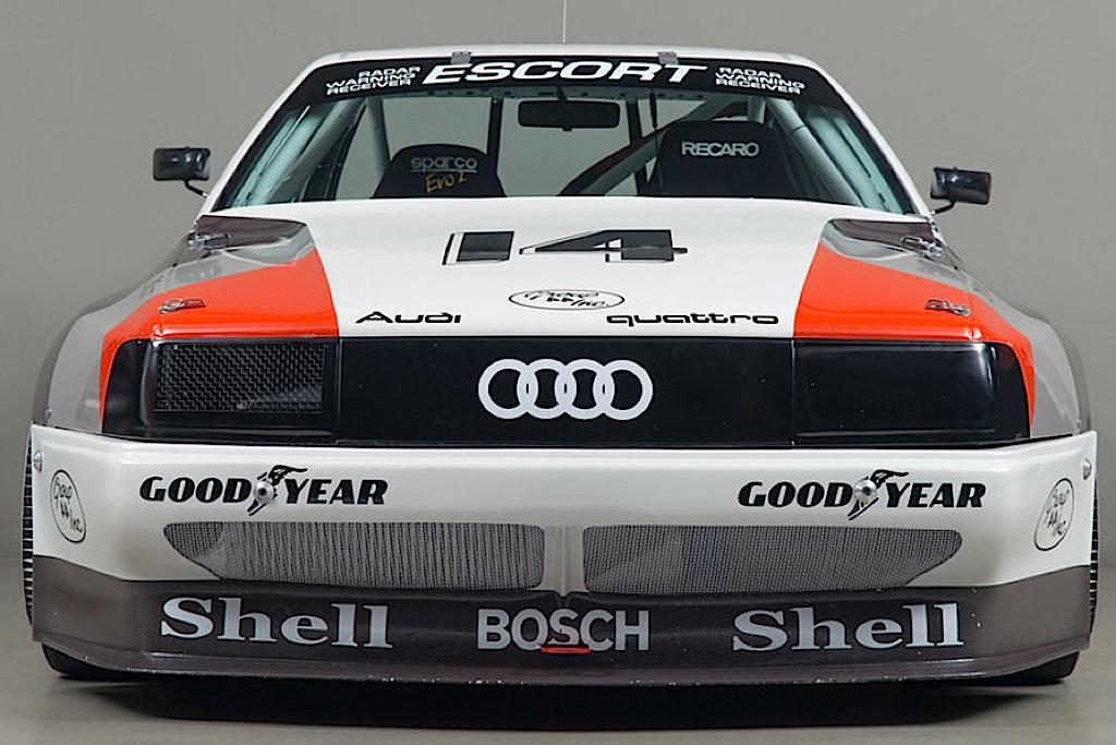 Audi 200 Trans-Am, Quattro pistarde 16