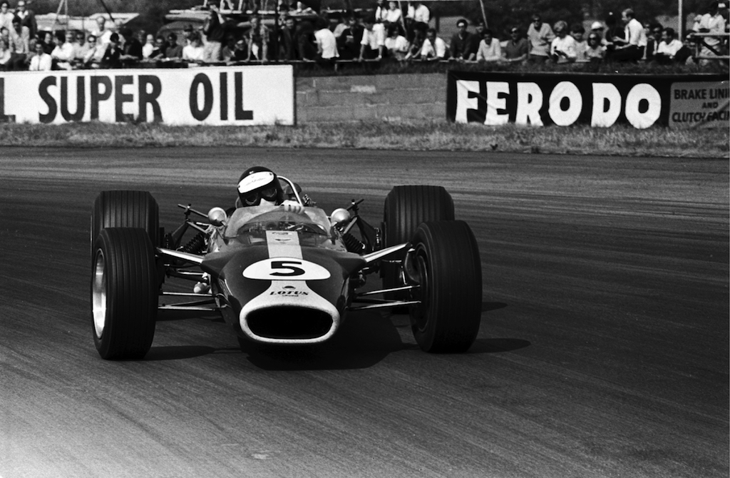Jim Clark : Drift en Cortina Lotus 21