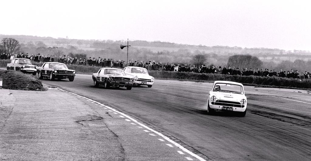 Jim Clark : Drift en Cortina Lotus 19