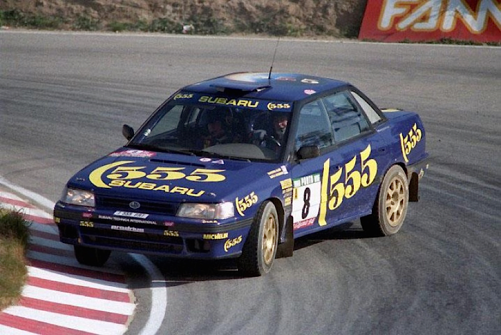 Subaru Legacy WRC... avec un certain Colin McRae 17
