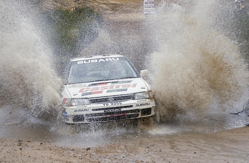 Subaru Legacy WRC... avec un certain Colin McRae 20
