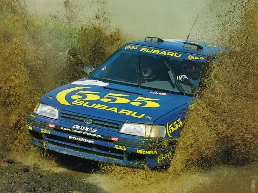 Subaru Legacy WRC... avec un certain Colin McRae 24