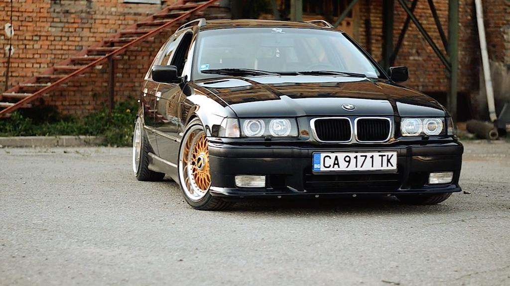 """BMW 328i E36... """"The stanced touring"""" ! 20"""
