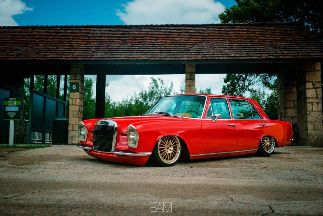 Red Bagged Benz W108... Mélange des genres ! 28