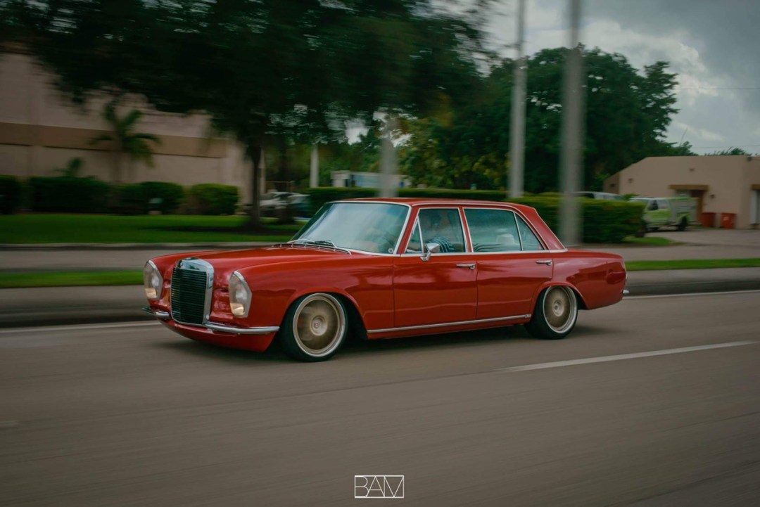 Red Bagged Benz W108... Mélange des genres ! 34