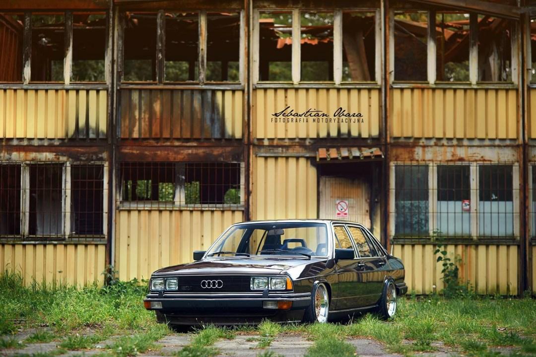 Slammed Audi 200 5T - En coussin d'air sur du BBS ! 33