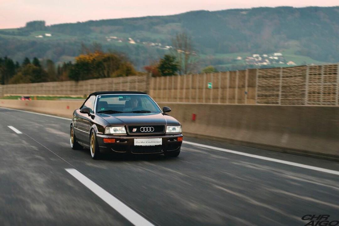 Audi 80 Cab... RS2 ! Sortez couverts... 44